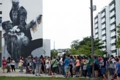 Conor Harrington in Rio Piedras,Puerto Rico. Arquitecture School UPR