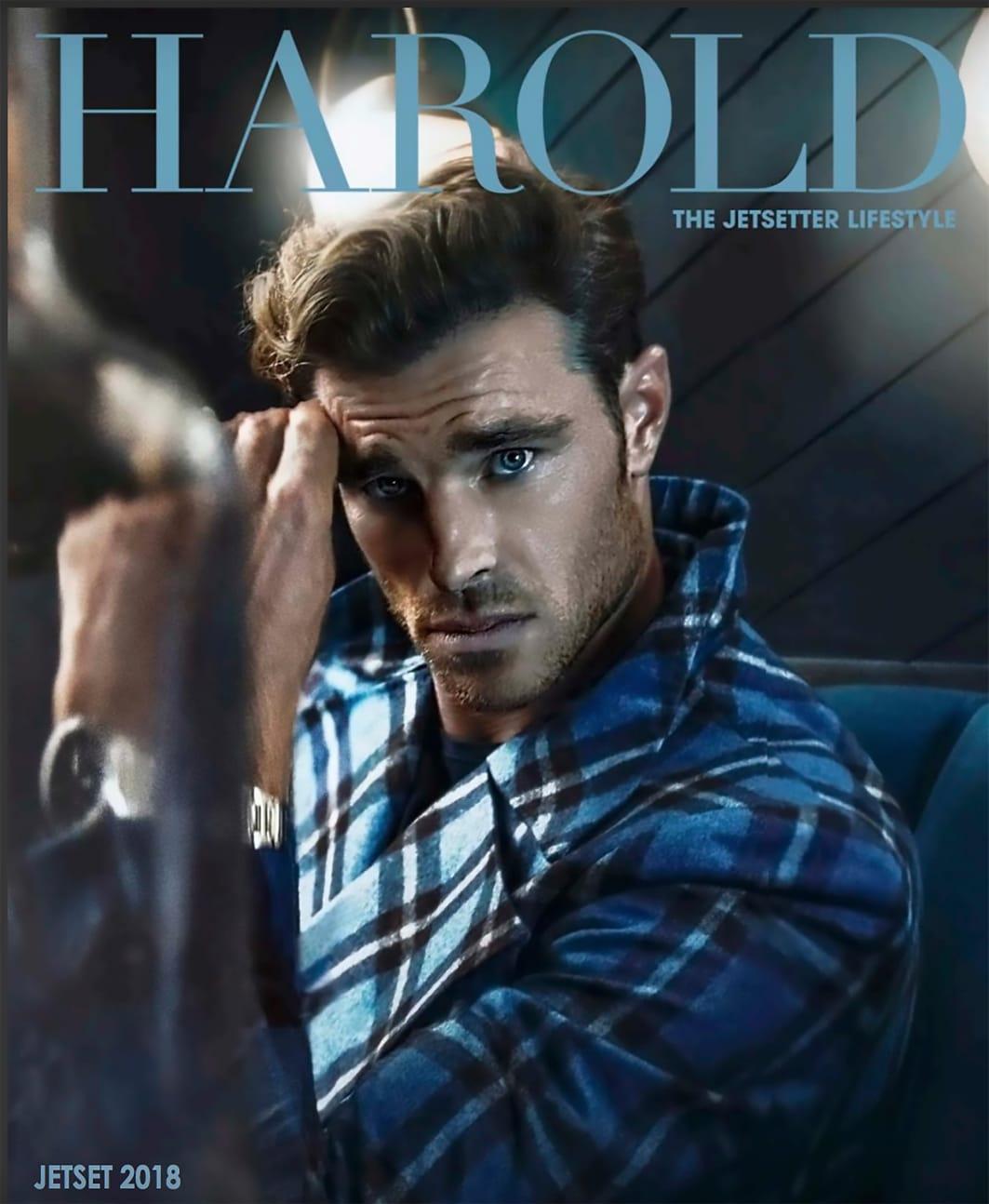 Harold Magazine - British actor David Frampton
