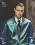British actor model David Frampton interview feature the Fashionisto