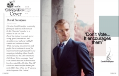 British actor model David Frampton interview feature Charlatan mag
