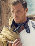 British actor model David Frampton by Oliver Pilcher for D S Dundee ss13 Campaign