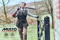 British actor David Frampton Musto AW17 Campaign