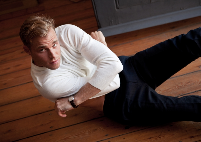 British actor David Frampton interview feature Proper magazine