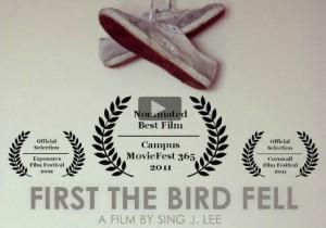 first the bird fell british actor david frampton