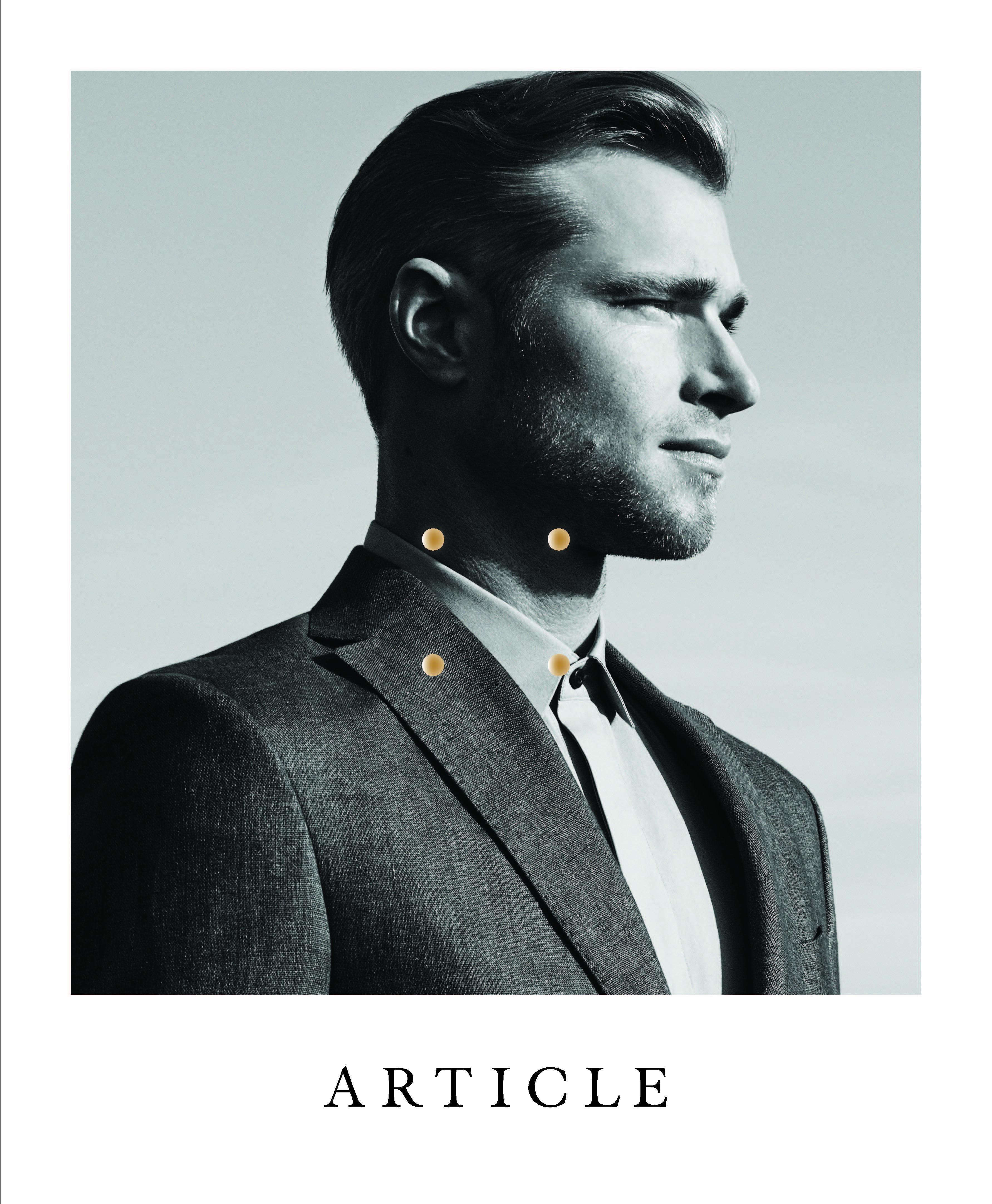david frampton actor cover article magazine