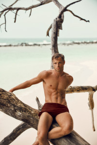 british actor david frampton by milzero in the maldives
