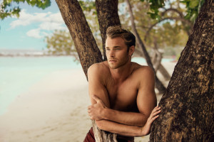 british actor david frampton by milzero in the maldives