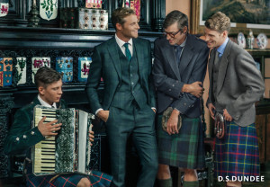 british actor model david frampton ds dundee campaign scotland