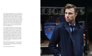 article first edition british actor david frampton cover feature