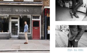 Article - 1st edition British actor David Frampton cover