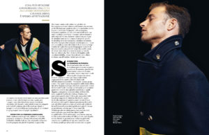 style italia magazine british actor david frampton cover feature