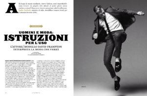 style italia magazine british actor david frampton cover feature
