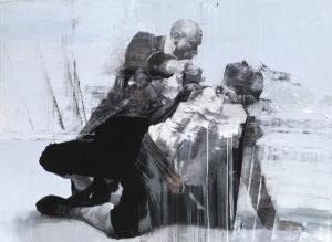 artist painter conor harrington portrays actor david frampton